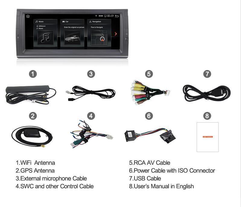 BMW E39 X5 M5 E53 E38 navigation