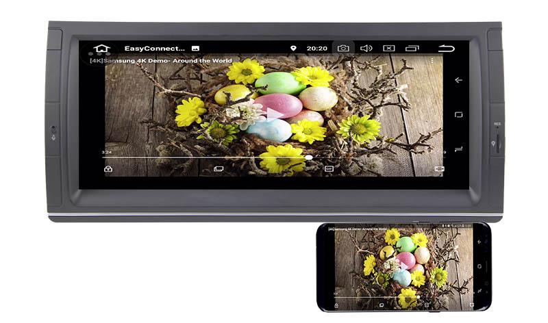 BMW E39 X5 M5 E53 E38 android mirror link