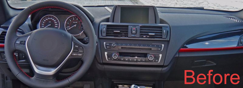 BMW 2 Series F22 F45 MPV dashboard