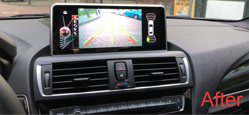 BMW 2 Series F22 F45 MPV head unit upgrade