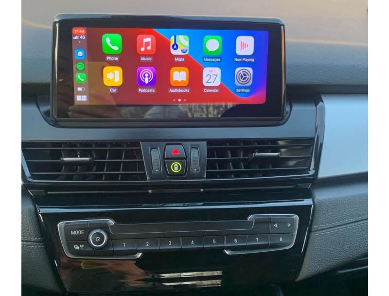 BMW 2 Series F22 F45 MPV head unit upgrade