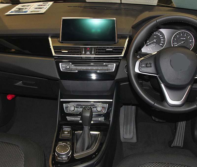 BMW 2 Series F22 F45 MPV dashboard