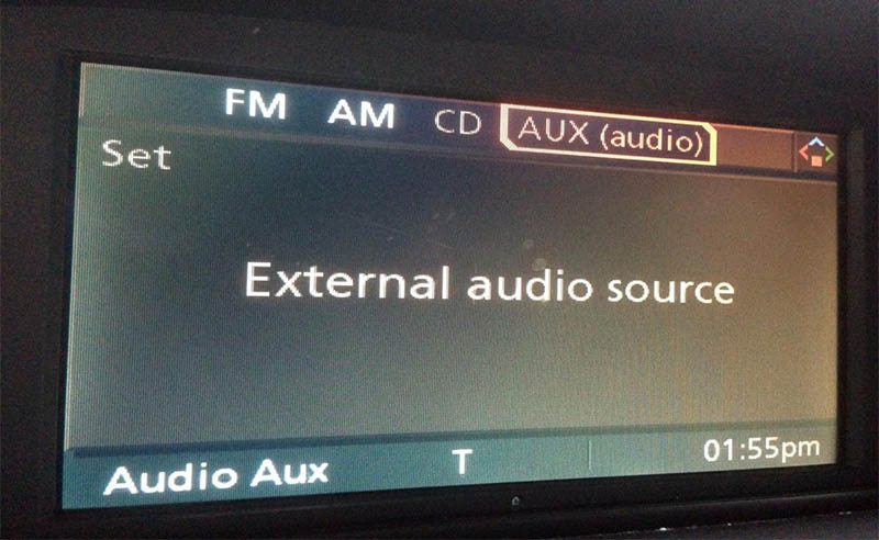 bmw aux audio
