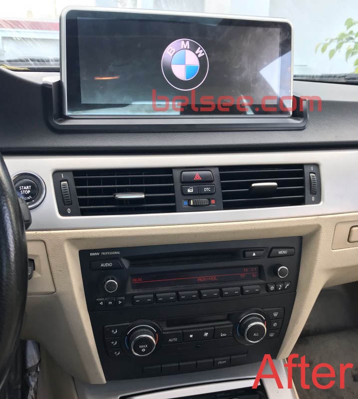 bmw E90 e91 e92 e93 10.25 head unit upgrade