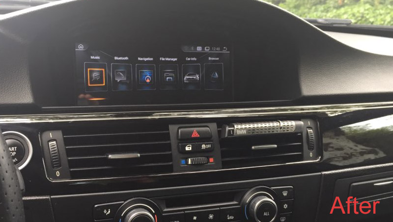 bmw e90 head unit upgrade