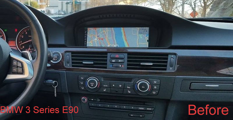 bmw e90 dashboard