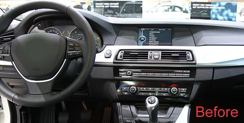 bmw f10 f11 dashboard
