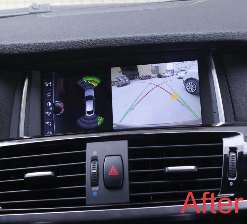 BMW X3 x4 head unit upgrade