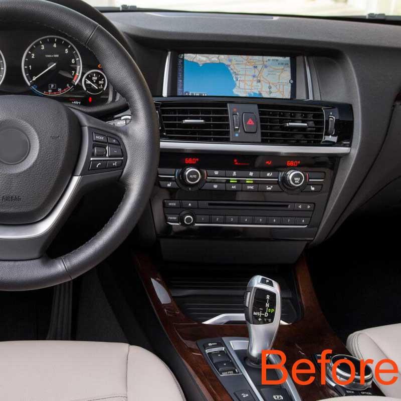 BMWX3 x4 dashboard