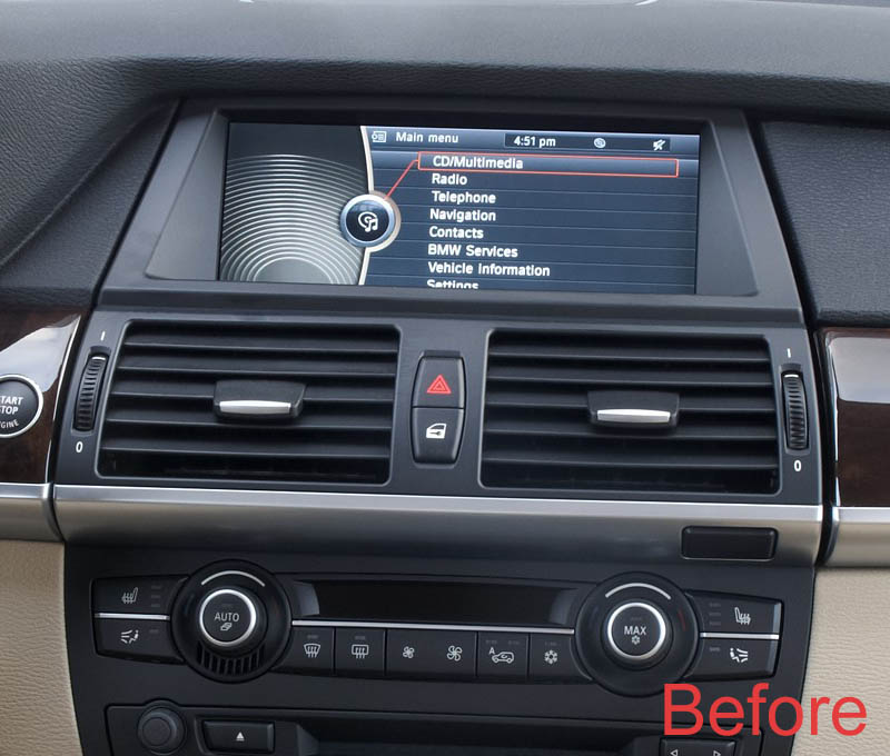 bmw x5 x6 factory radio