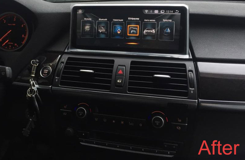 bmw x5 x6 android autoradio