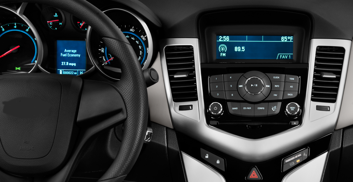 Chevrolet Cruze factory radio
