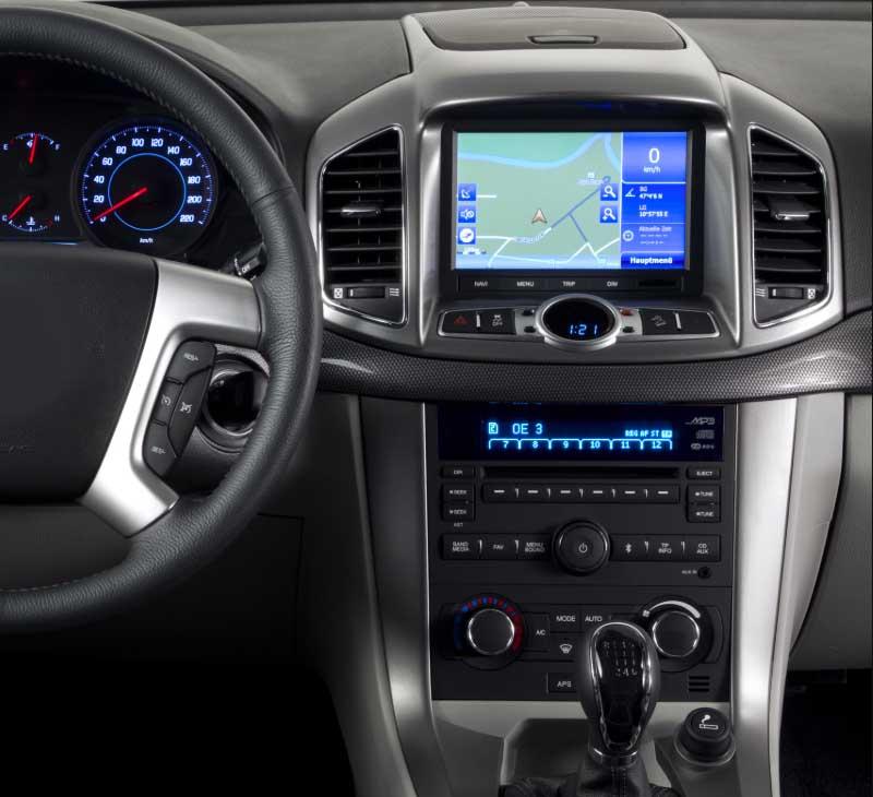 Chevrolet Chevy Captiva 2011-2016 factory radio