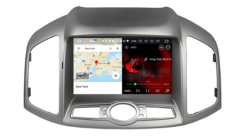 slpit screen on android Chevrolet Chevy Captiva 2011-2016