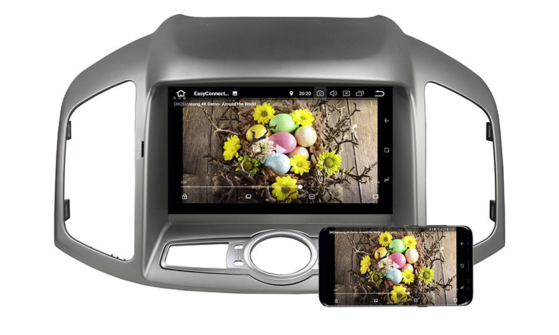 Chevrolet Chevy Captiva 2011-2016 android mirror link