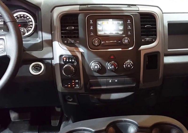 Dodge Ram 1500 2500 3500 2013-2019 dash