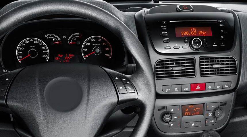 Fiat Doblo factory radio