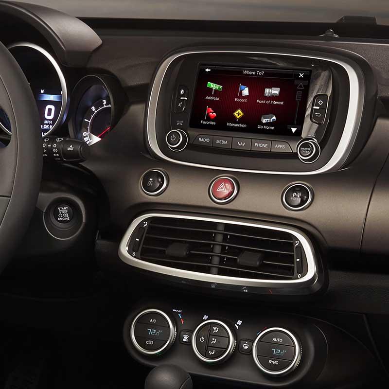 FIAT 500X 2014-2020 factory radio