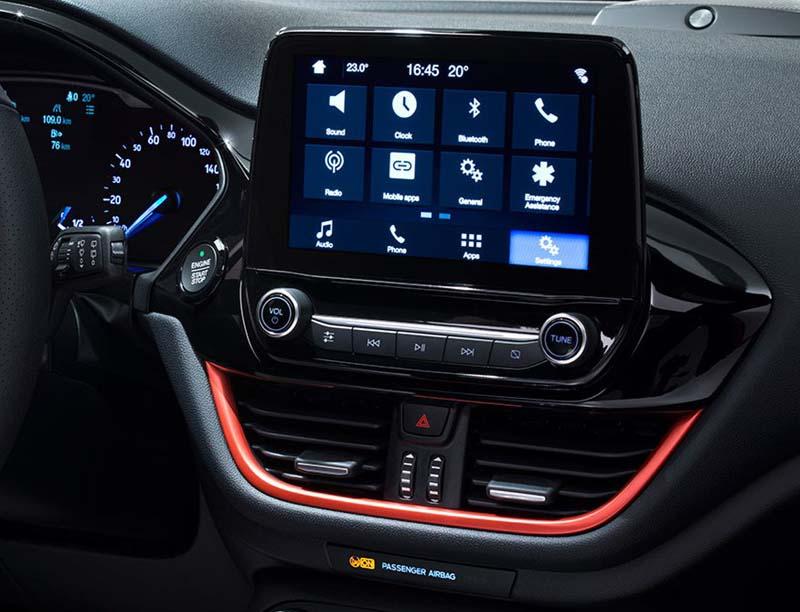 Ford EcoSport Fiesta 2017-2020 factory radio