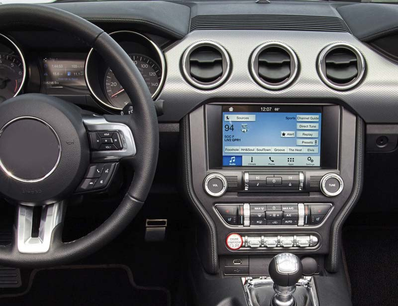 ford mustang dash