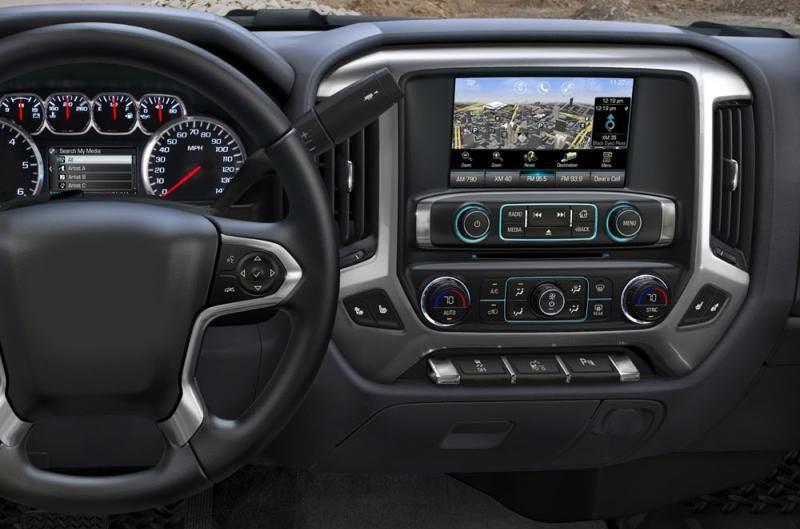 GMC Sierra VIA VTRUX truck Chevrolet Silverado LD Auto AC 2013-2018 factory radio