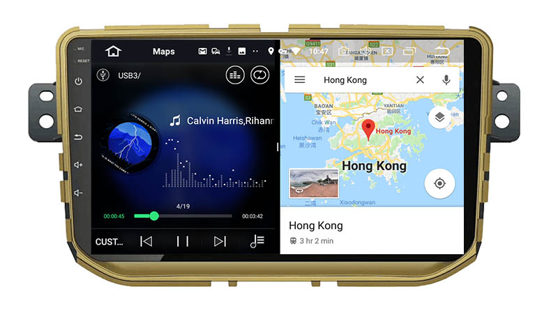slpit screen on android Great Wall Haval H2 2012-2017