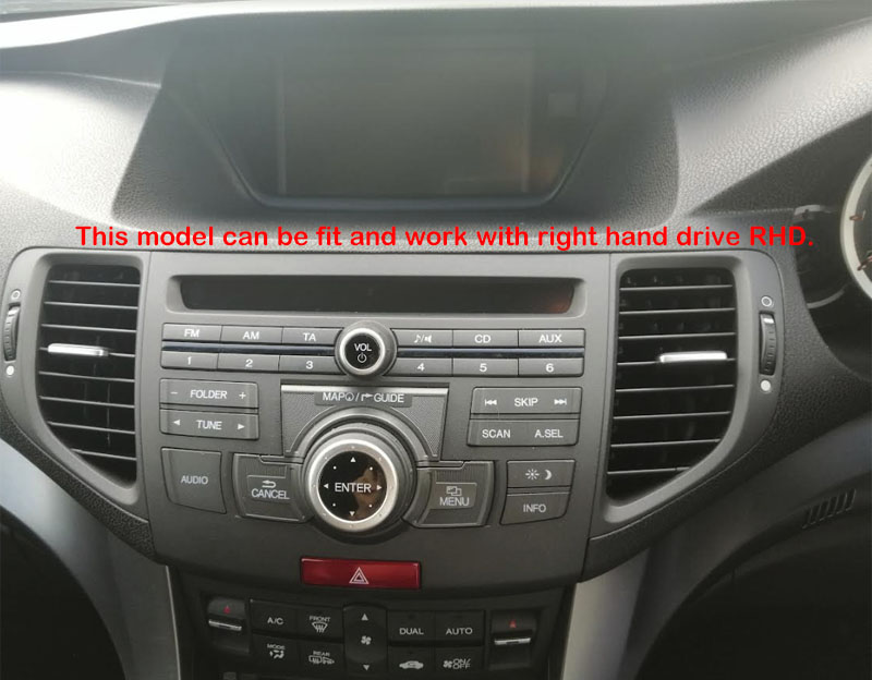 Honda Accord 8 2008 2009 2010 2012 Acura TSX SPIRIOR factory radio