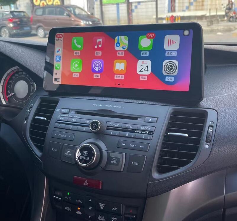Honda Accord 8 2008 2009 2010 2012 Acura TSX SPIRIOR 12.3 screen stereo upgrade