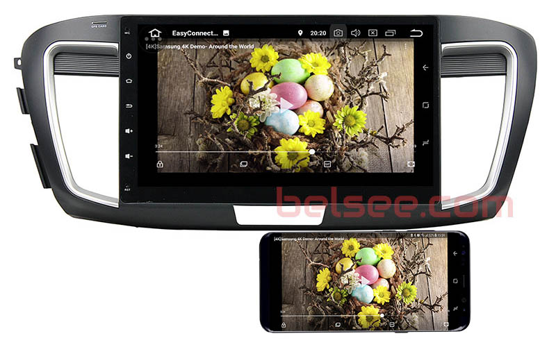 Honda Accord 9 9th gen 2013 2014 2015 2016 2017 android mirror link