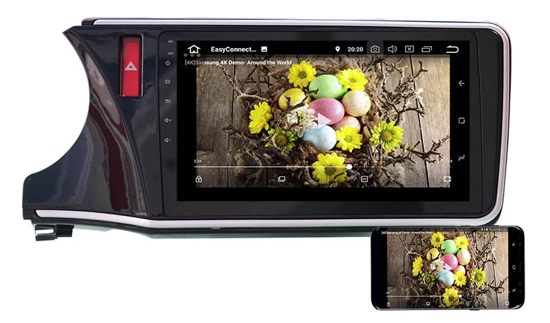Honda City Grace 2014-2020 android mirror link