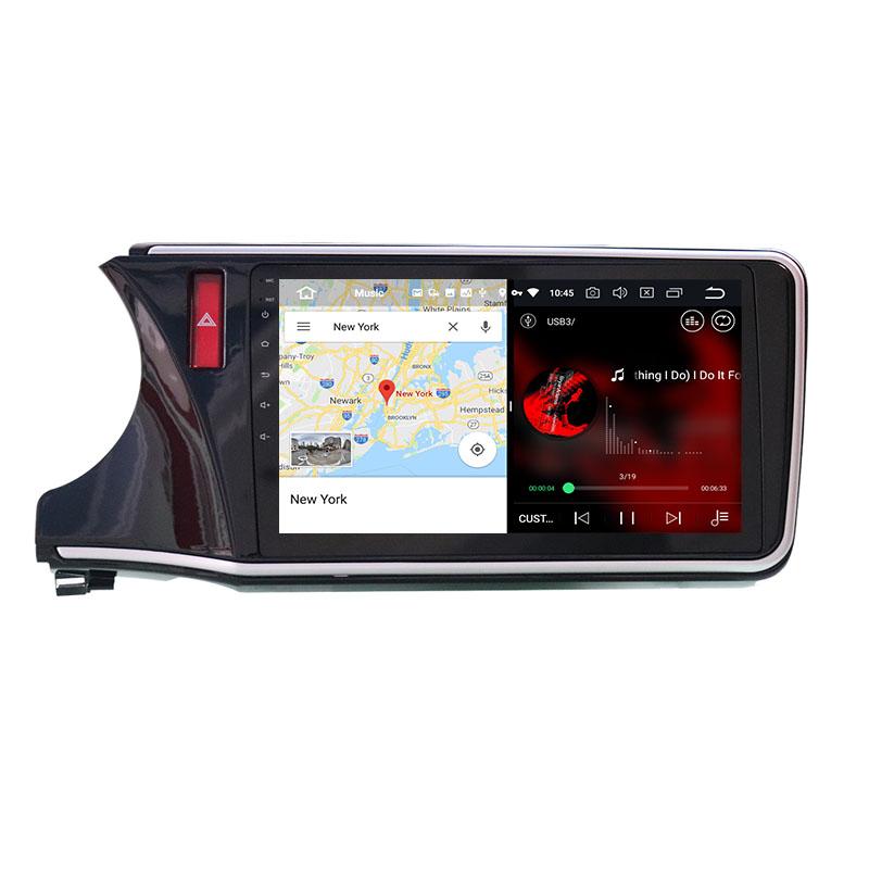 slpit screen on android Honda City Grace 2014-2020