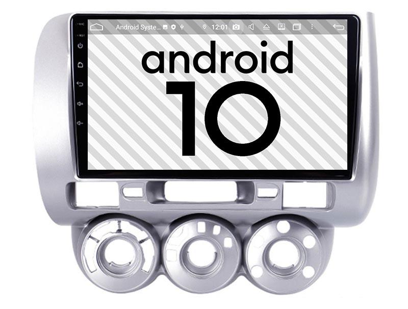 Honda Jazz City 2002-2007 android 10.0 autoradio
