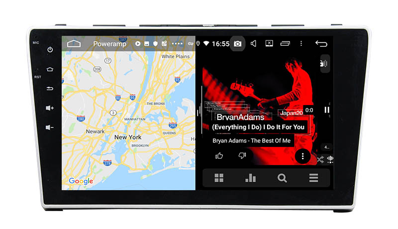slpit screen on android Honda CR V CR-V 2006 2008 2009 2010 2011
