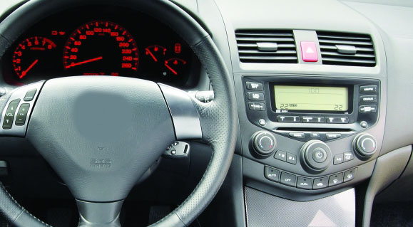 Honda Accord 7 2003-2007 factory radio