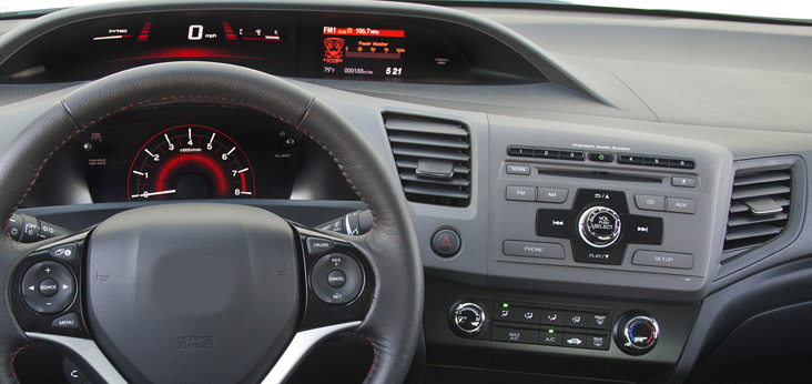 Honda Civic factory radio