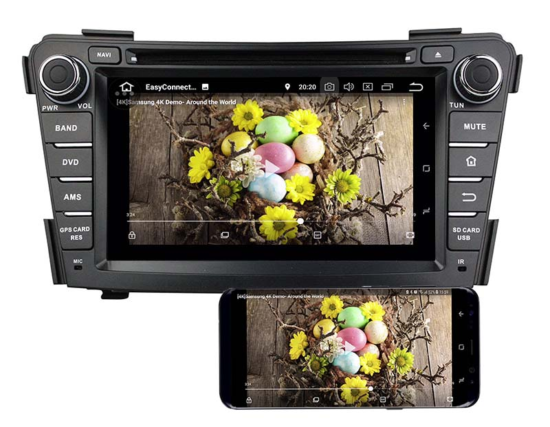 Hyundai i40 2011 2012 2013 2014 android mirror link