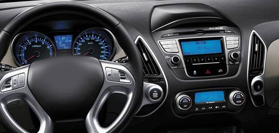 Hyundai Tucson ix35 2009-2013 factory radio