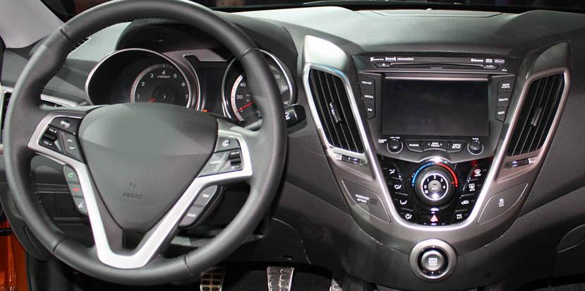Hyundai Veloster 2011-2017 factory radio