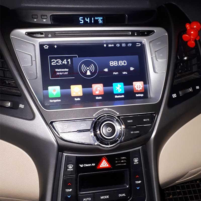 Hyundai Elantra 2014 2015 factory radio