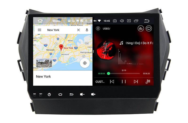 slpit screen on android Hyundai Santa Fe
