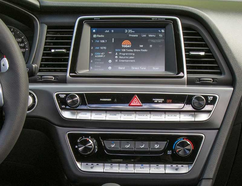 2018 2019 Hyundai Sonata factory radio