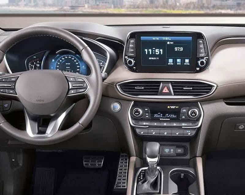 2019 2018 2020 Hyundai Santa Fe ix45 factory radio