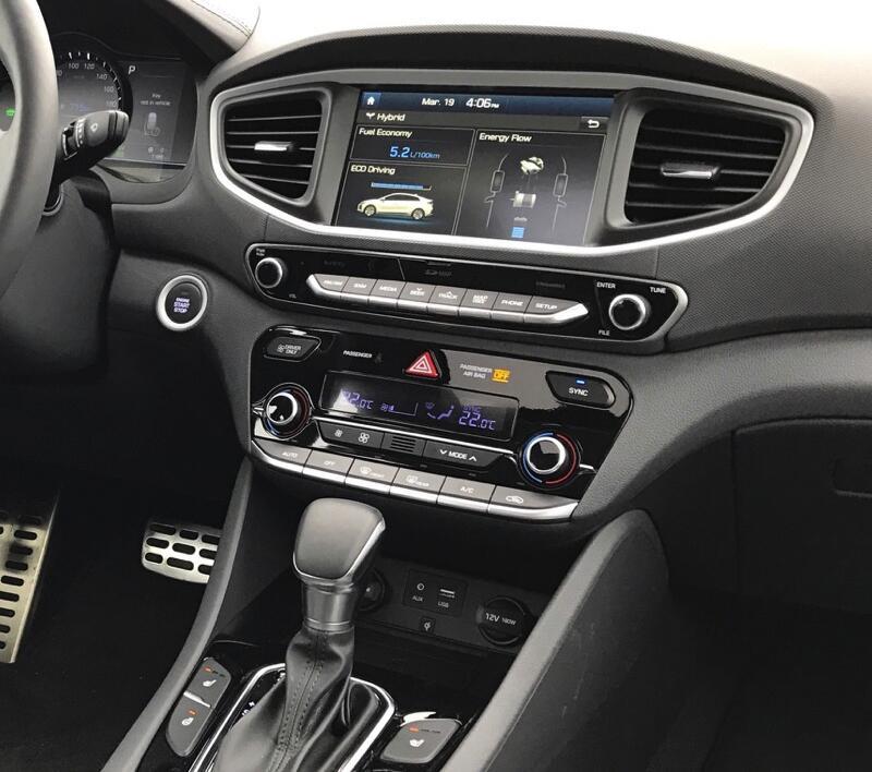 Hyundai Ioniq 2016-2019 factory radio