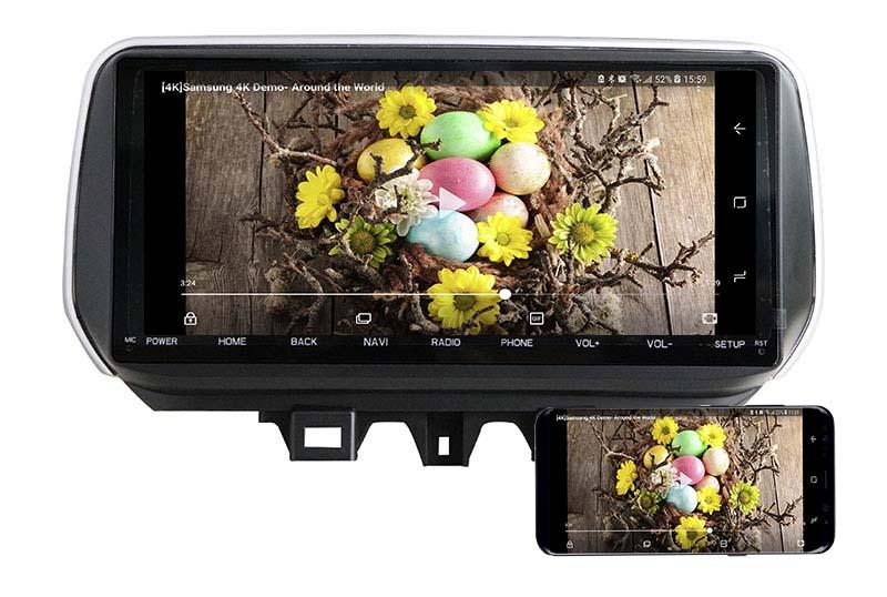 2018 2019 2020 2021 Hyundai ix35 Tucson android mirror link