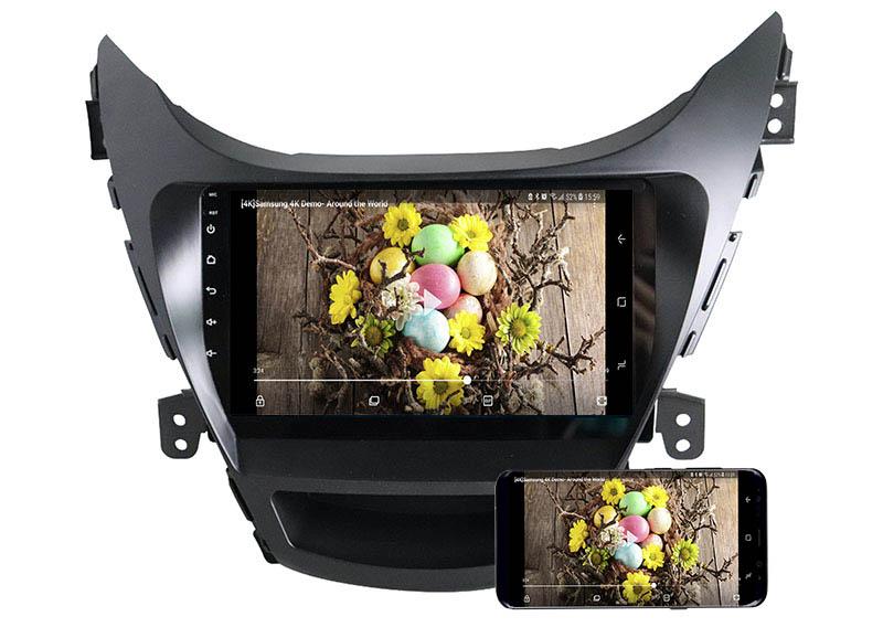 Hyundai Elantra 2011-2013 android mirror link