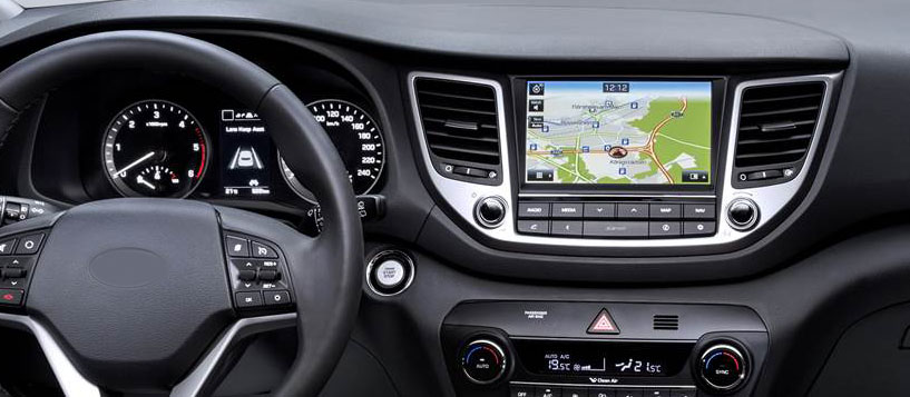 Hyundai Tucson 3 2015-2018 factory radio