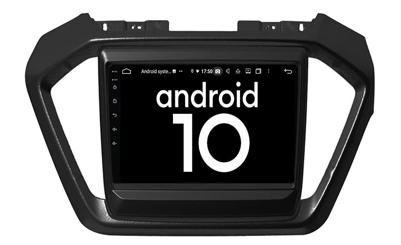 2020 Isuzu D-Max android 10.0 autoradio