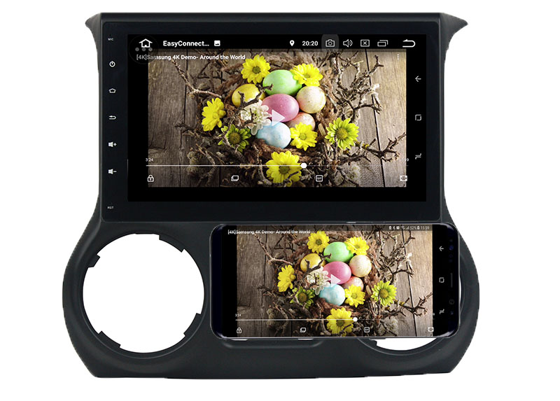 jeep wrangler android mirror link