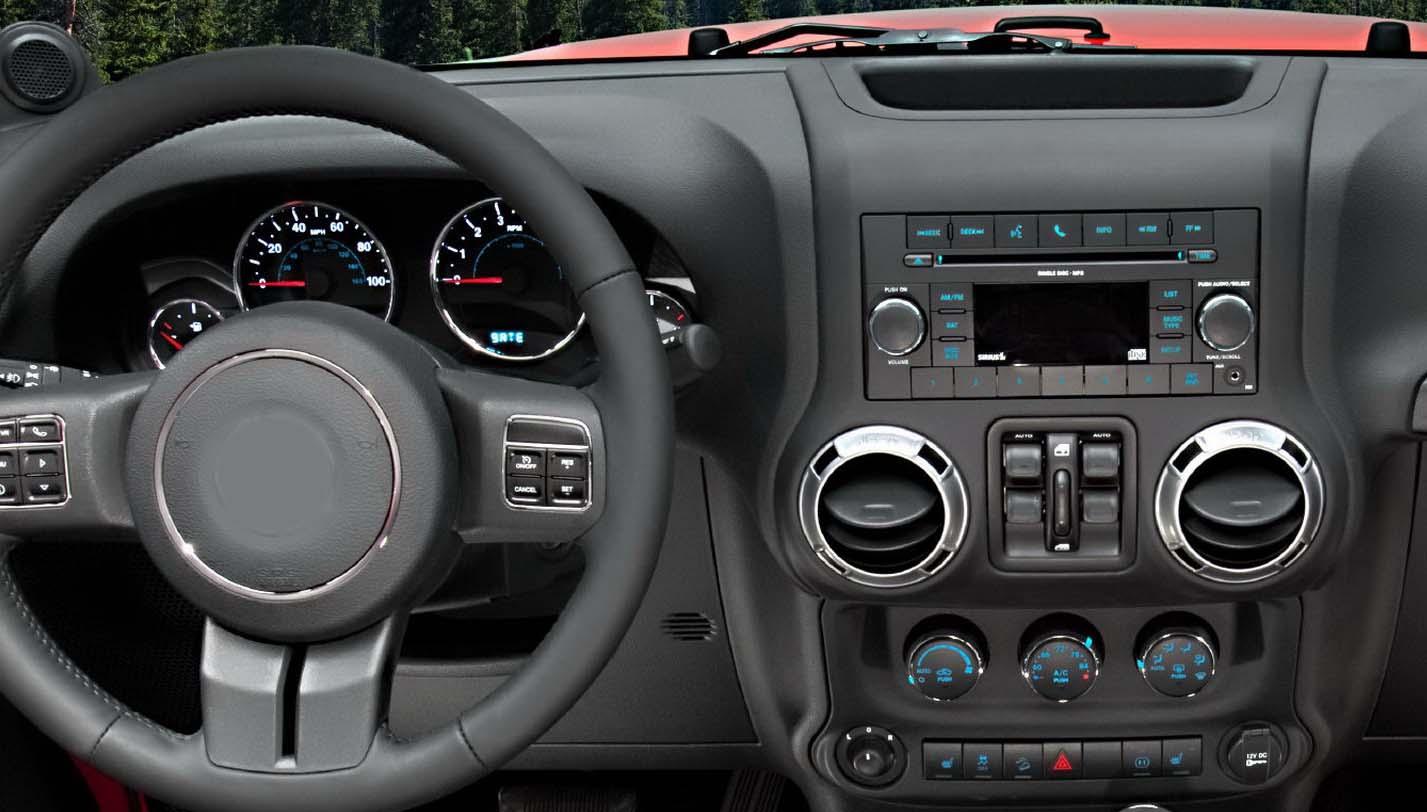 jeep wrangler factory radio