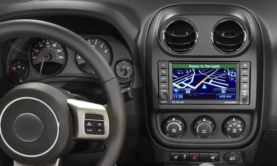 Jeep Patriot Compass 2007-2017 factory radio